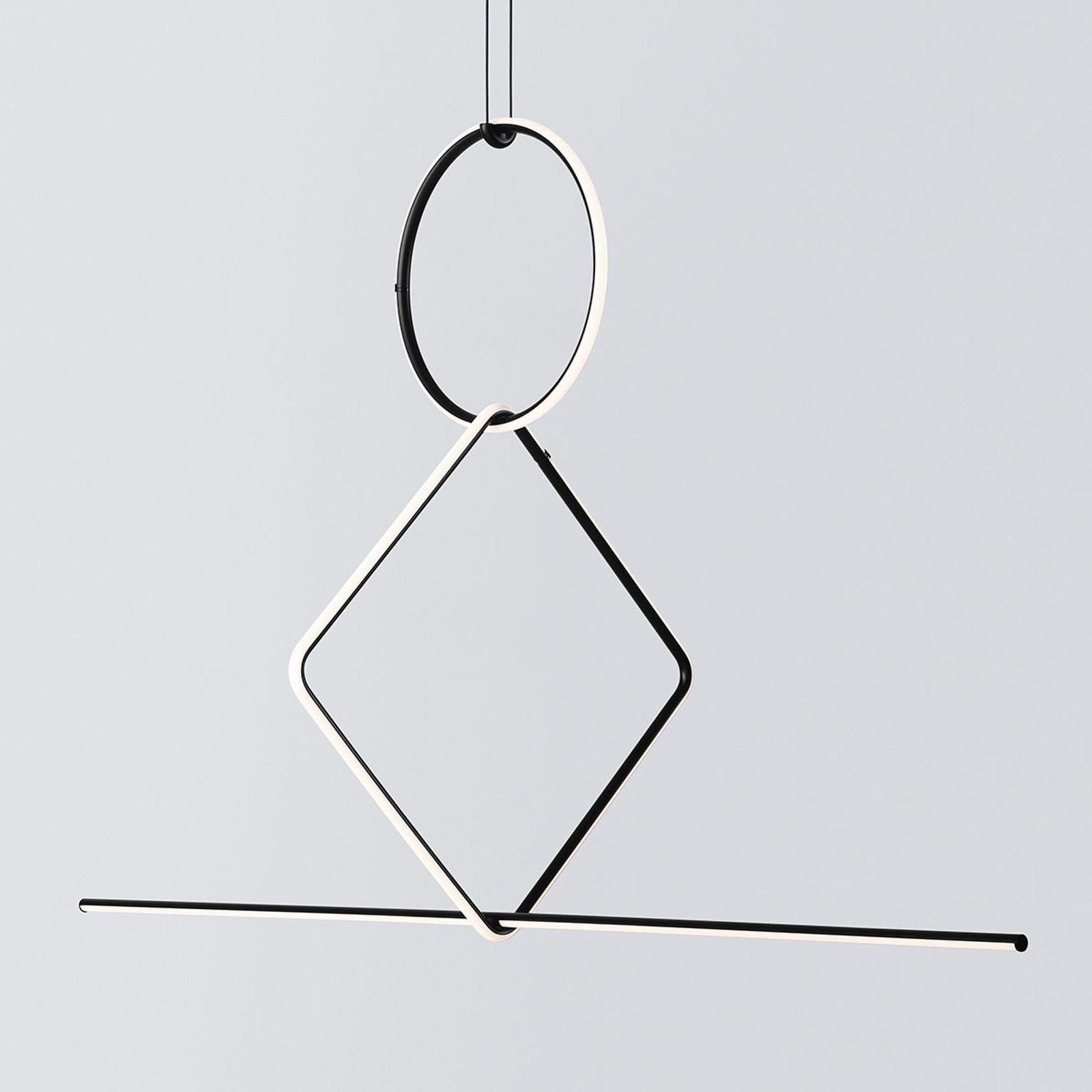 FLOS Arrangements 3 LED hanglamp