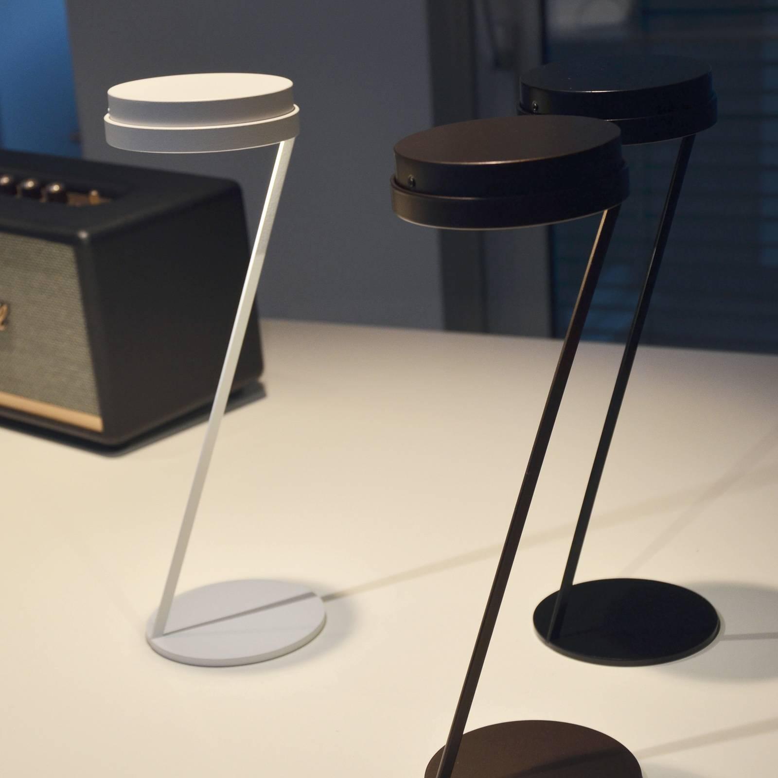 Knikerboker Zeta lampe à poser LED capteur noire