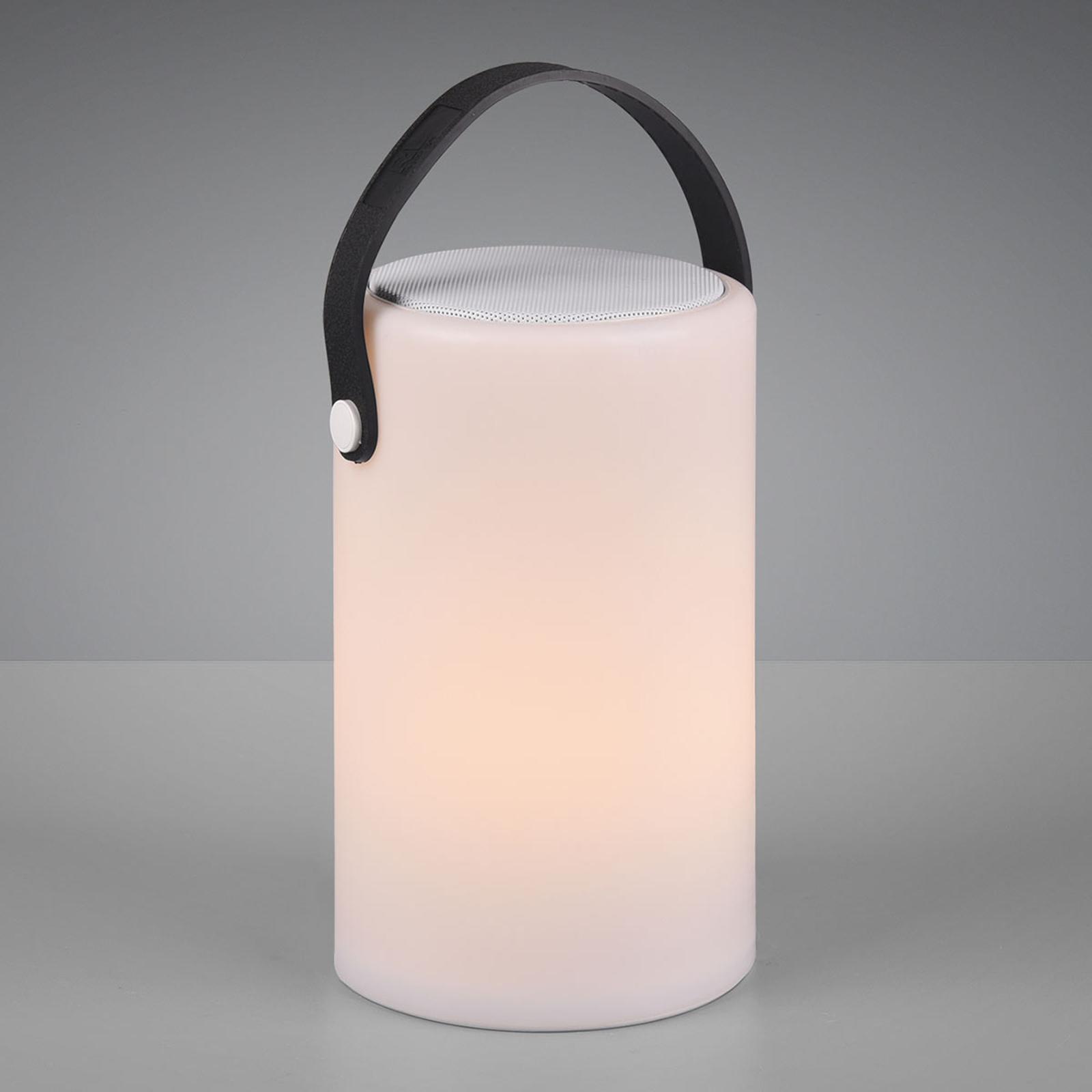 LED-Tischlampe Bermuda mit Akku und Fernbedienung