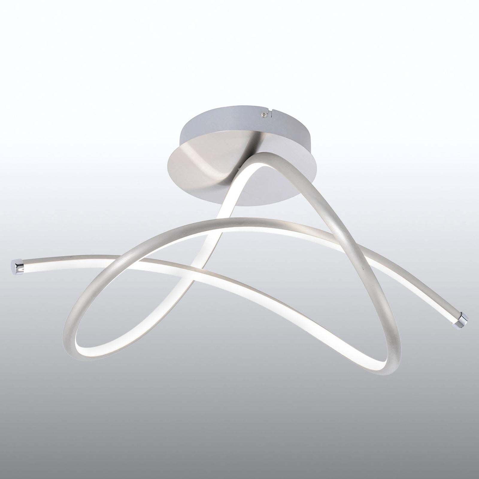 Plafonnier LED aux courbes dynamiques Violetta