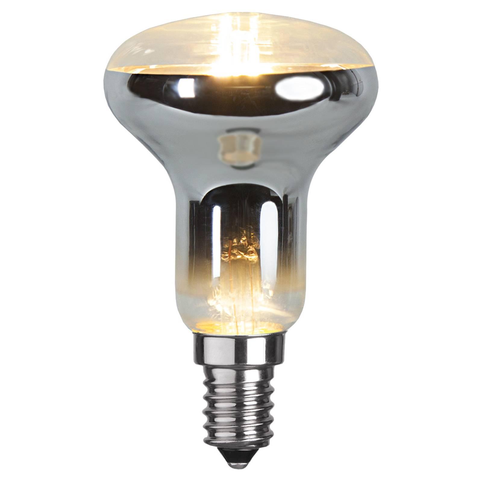 Riflettore LED E14 R50 2,5W 2.700K trasparente