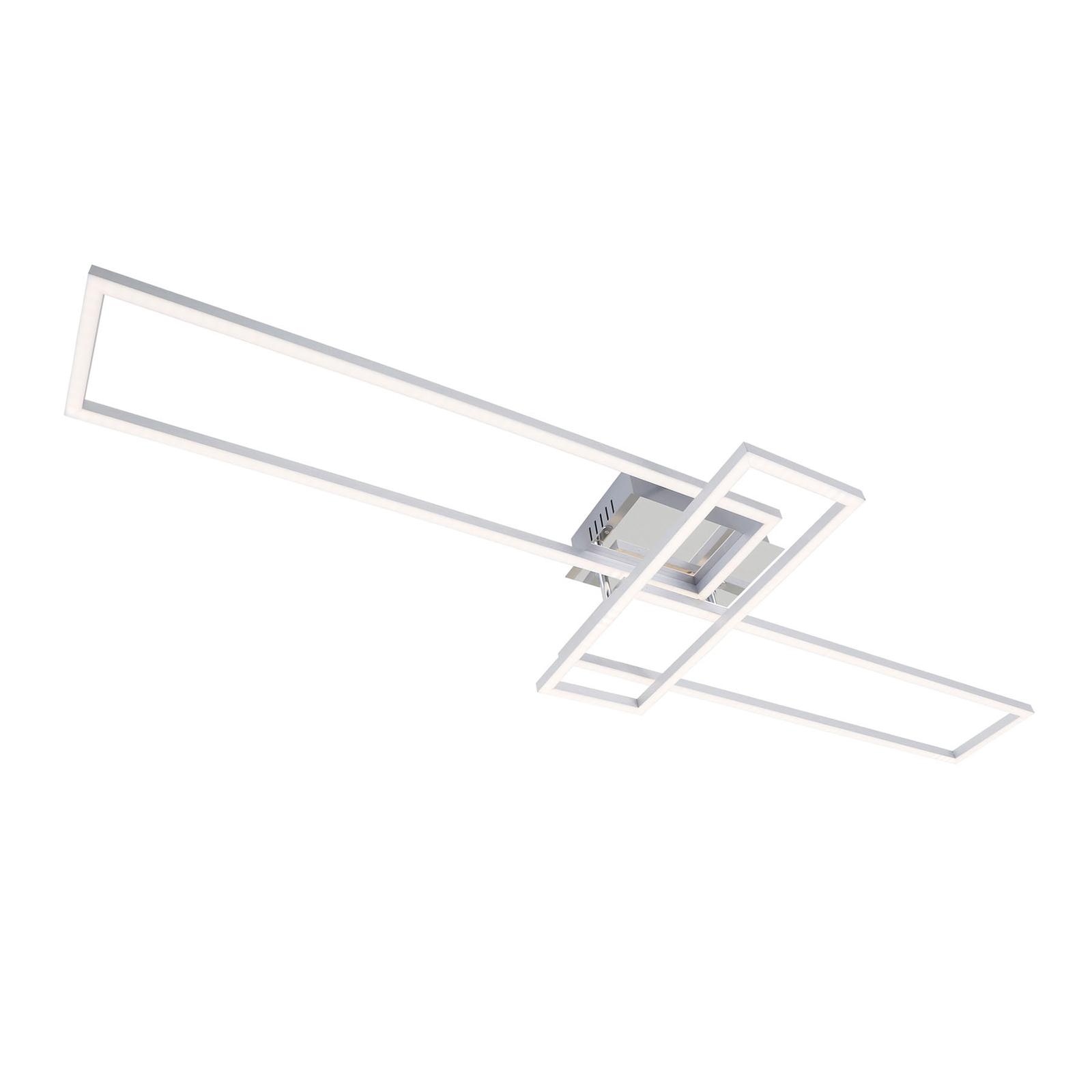Frame WiFi CCT, télécommande, aluminium, 110x35cm