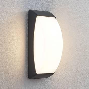 Kinkiet zewnętrzny LED Alaxey, IP65, ciemnoszary