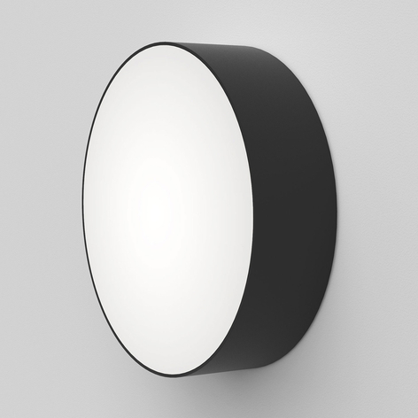 Astro Kea Round 250 lámpara de pared LED, negro