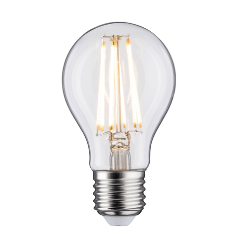 Ampoule LED E27 9 W filament 2 700 K transparente