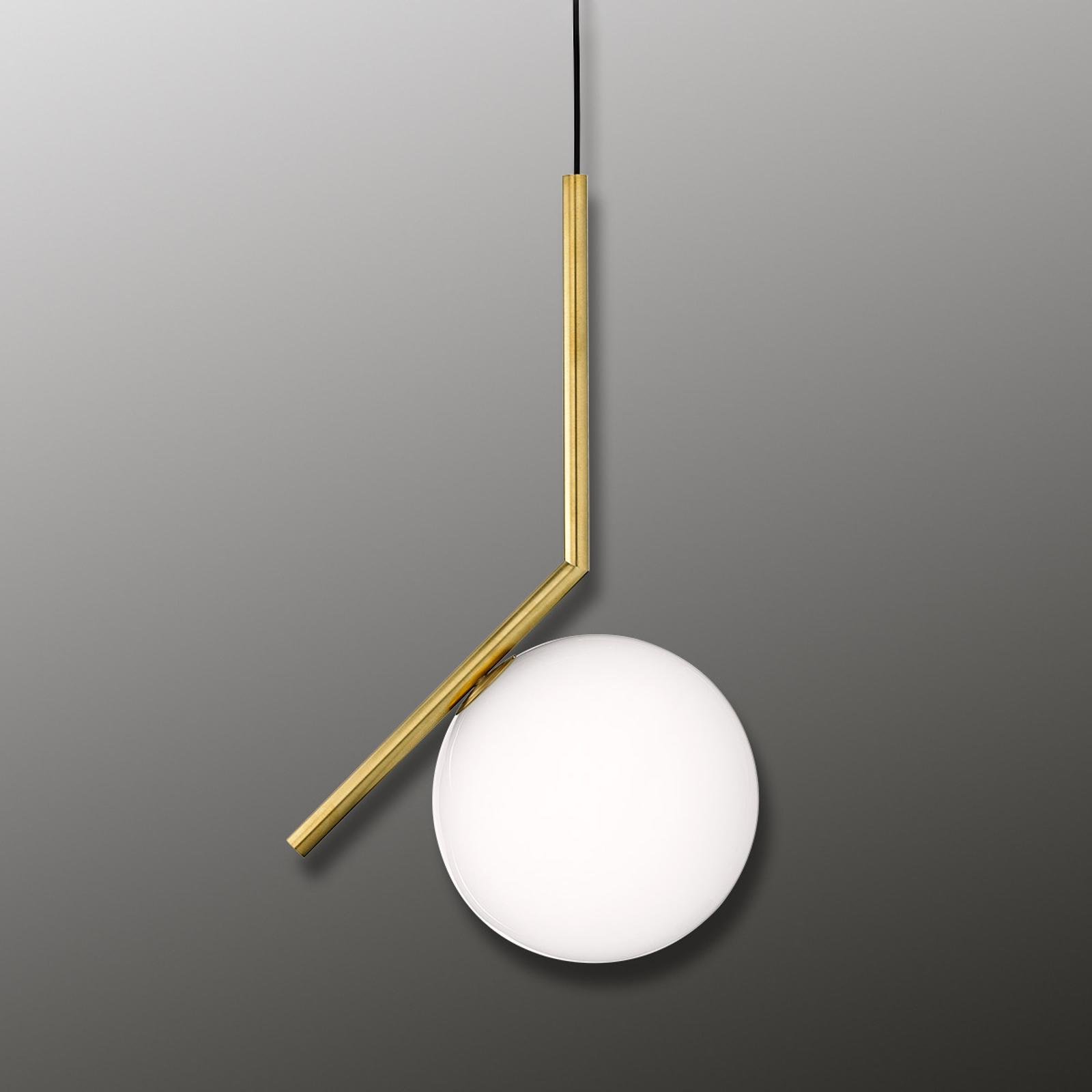 FLOS IC S1 dizajnérska závesná lampa mosadz