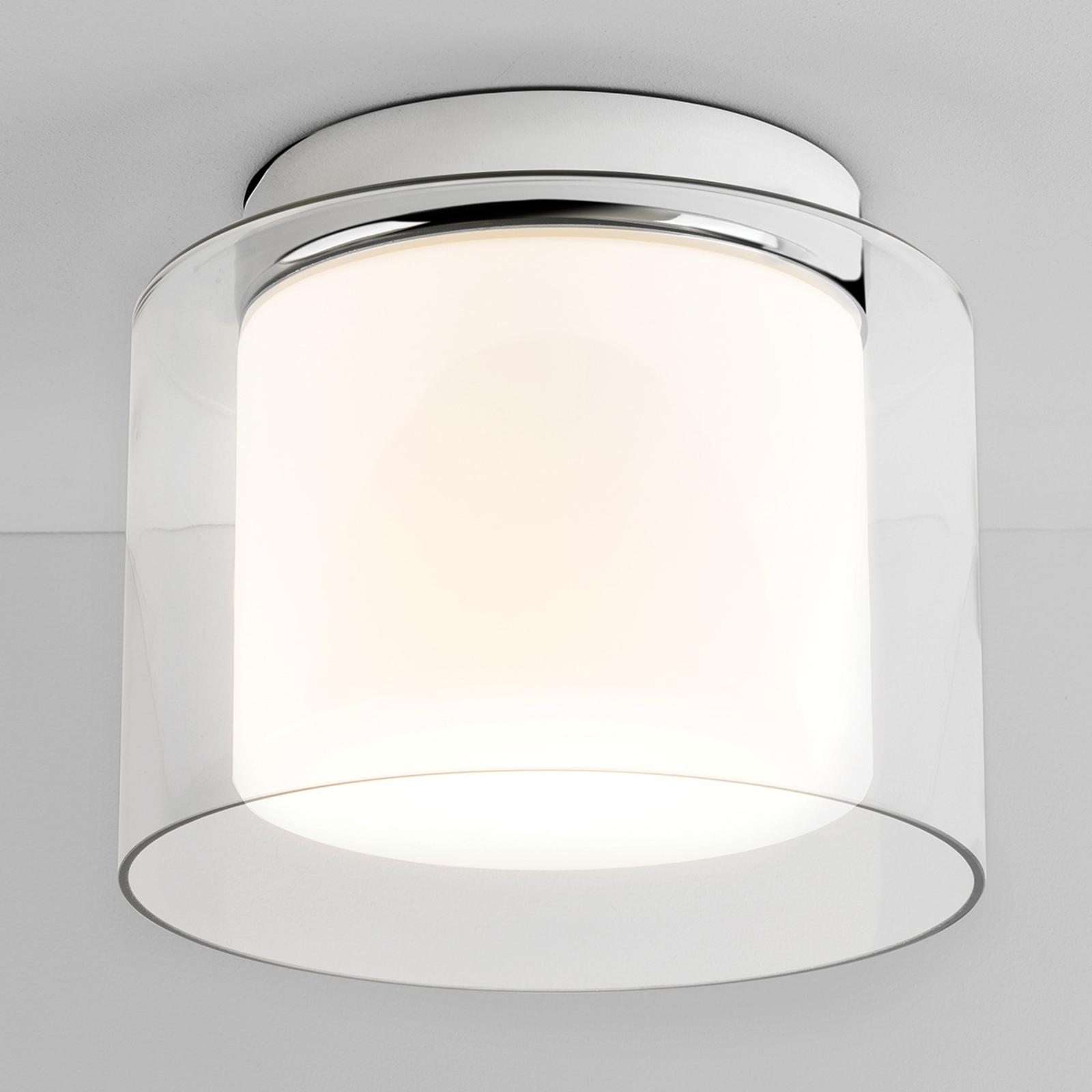 Lámpara de techo AREZZO de doble vidrio
