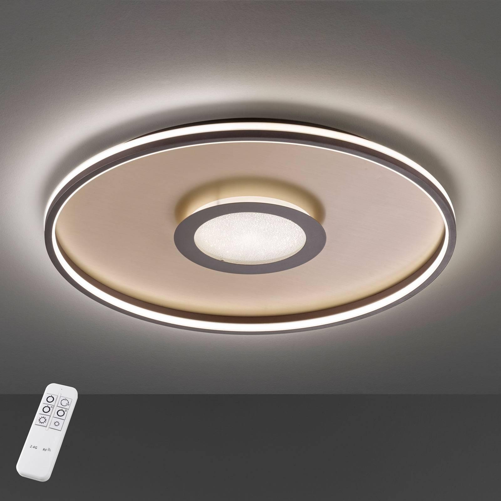 Lampa sufitowa LED Bug okrągła, rdza 60cm