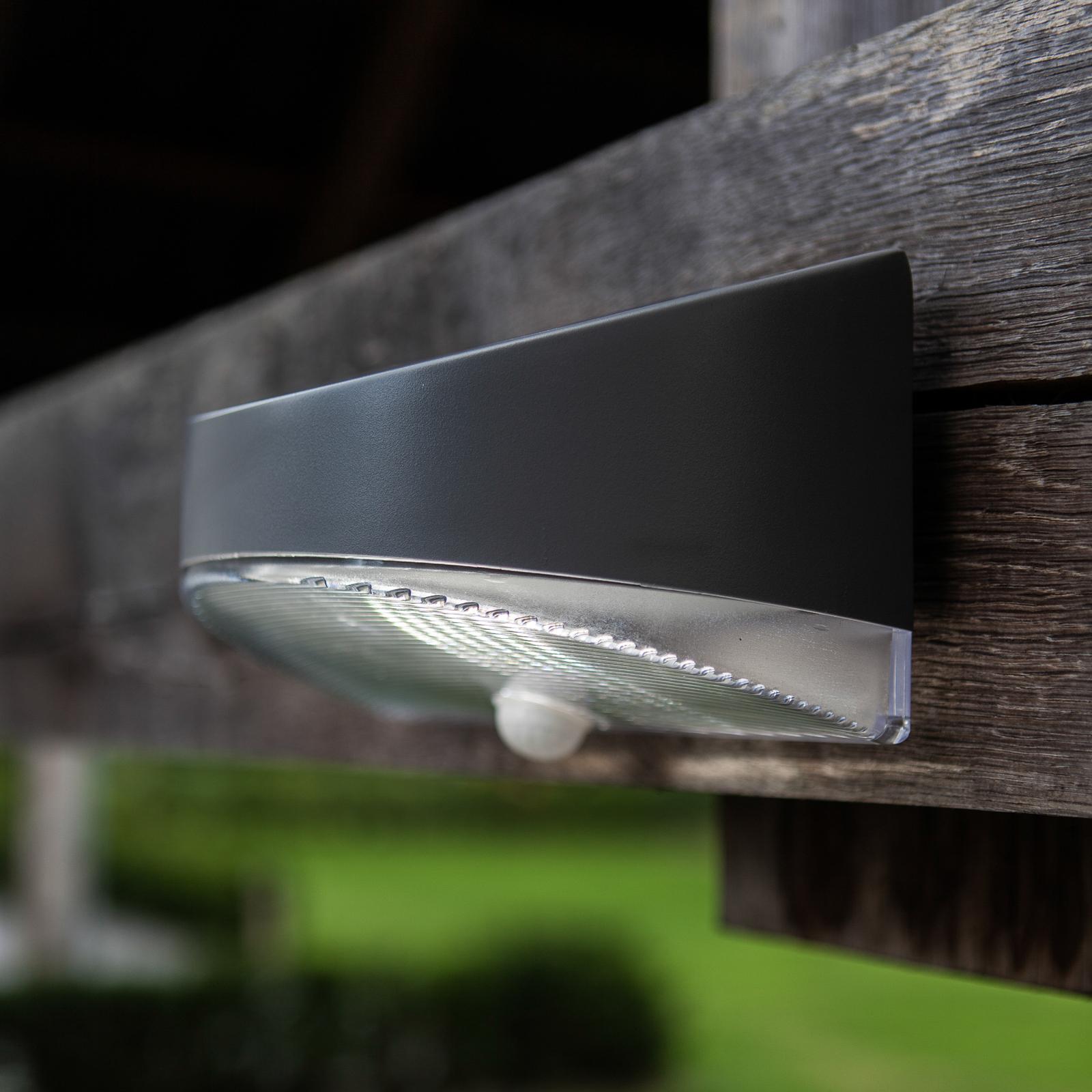 Aplique solar de pared exterior con LED Pan