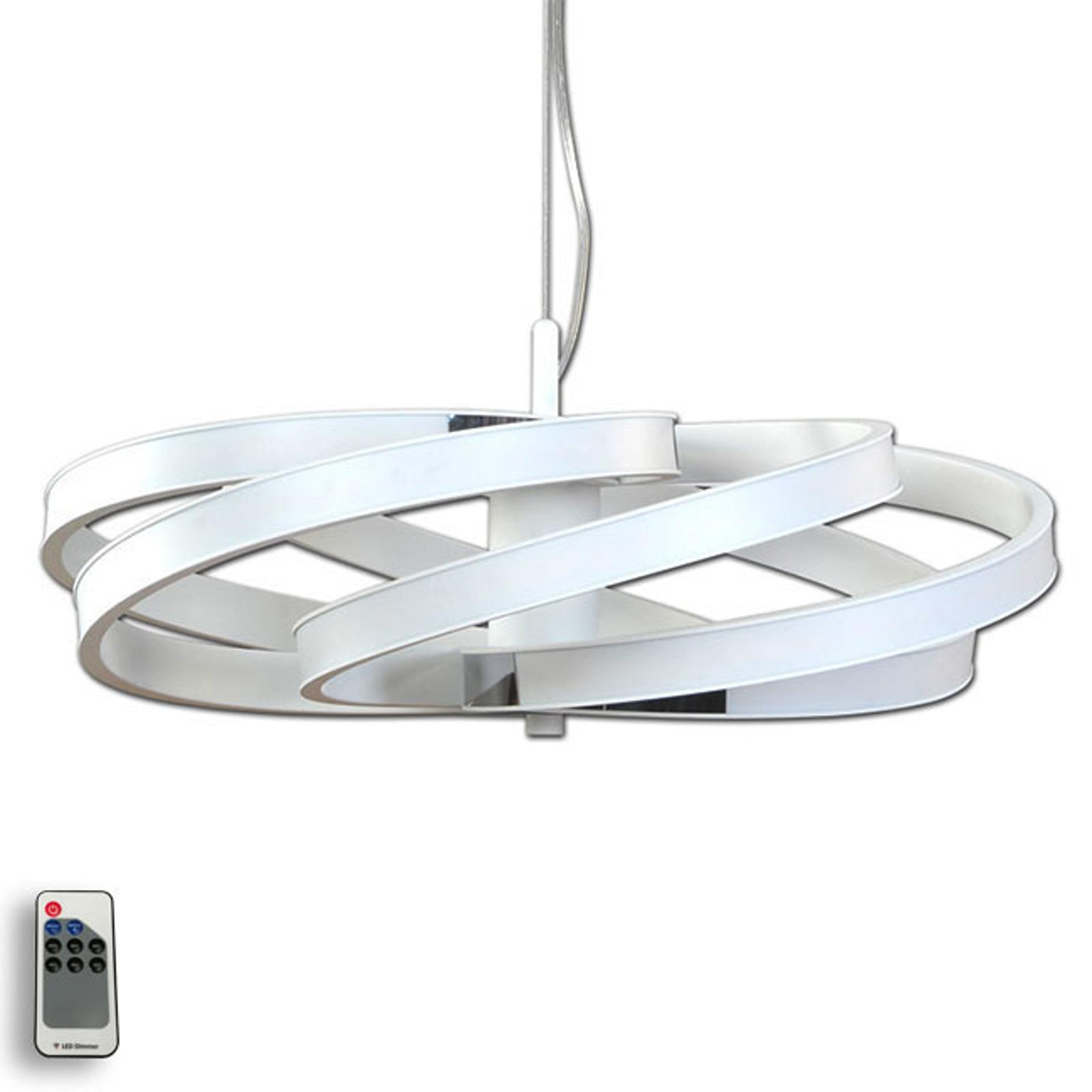 Dekorativní LED závěsné světlo Zoya, bílá