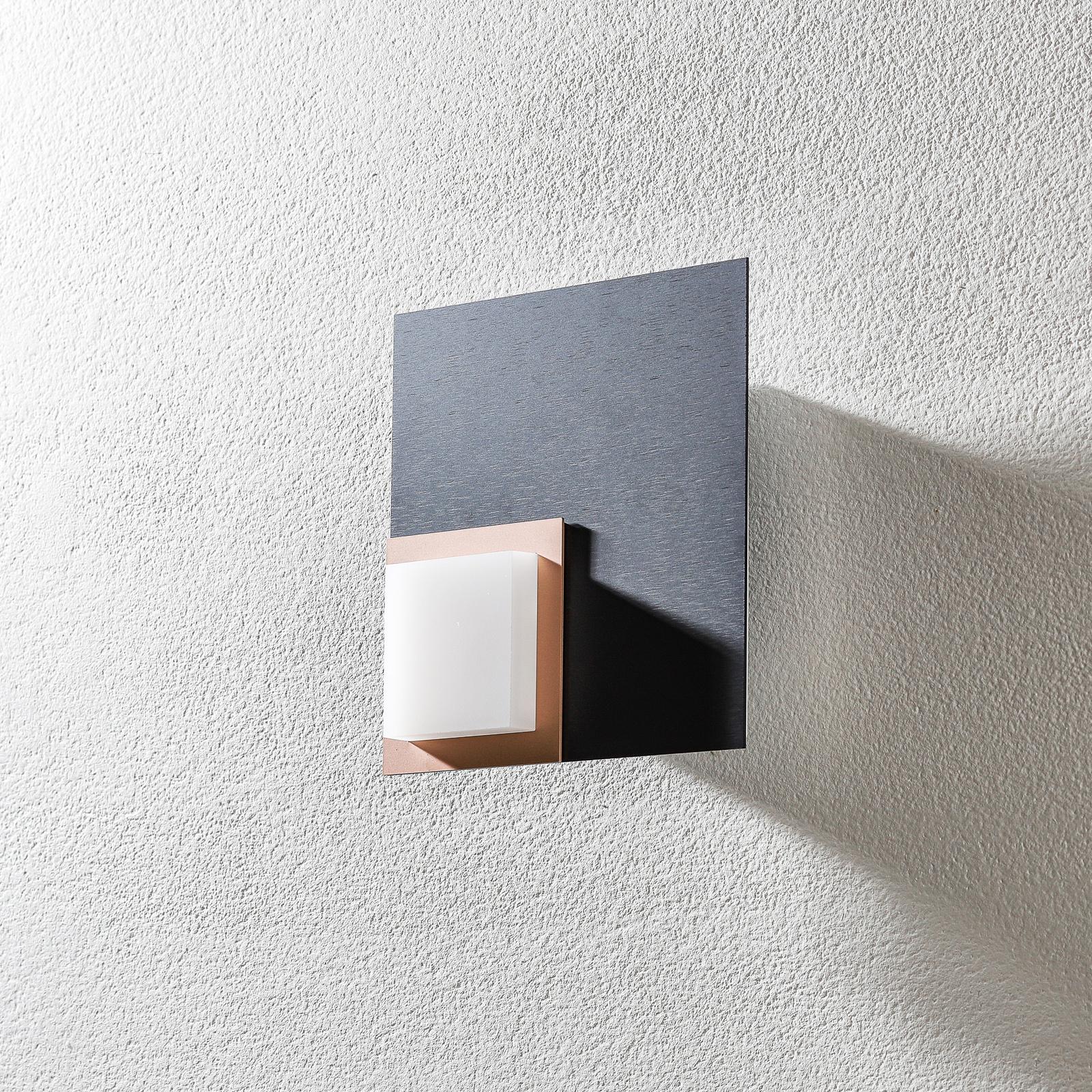 BANKAMP Quadro LED-Deckenleuchte 8W anthrazit