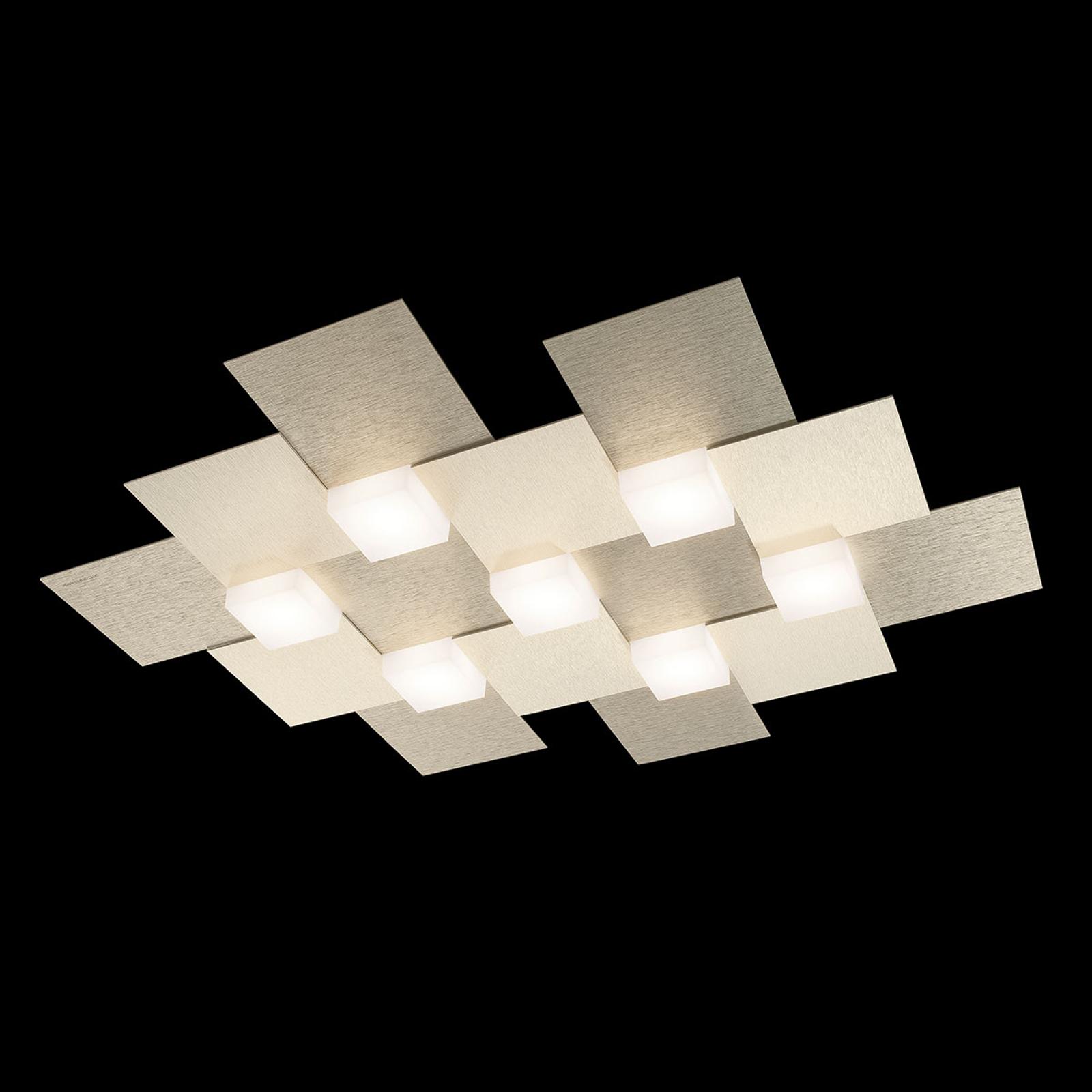 GROSSMANN Creo lampa sufitowa LED 7-pkt szampańska