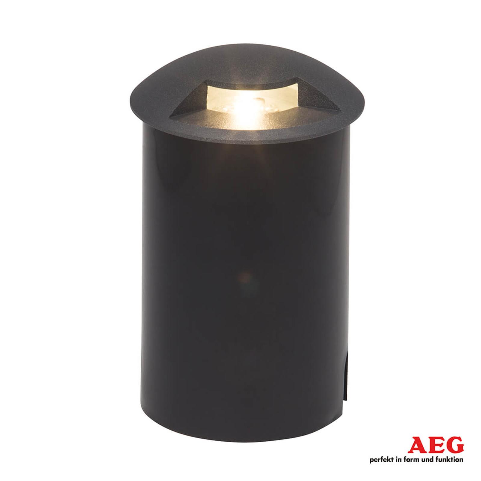 AEG Tritax yhdelle sivulle valaiseva LED-maaspotti