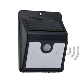 Argon solární LED venkovní nástěnné světlo, senzor