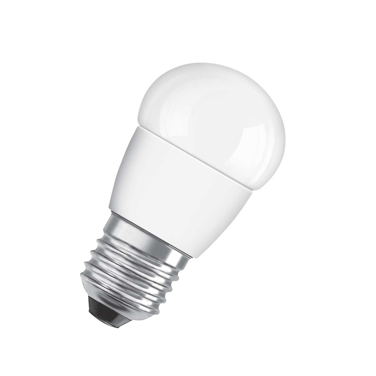 OSRAM LED-Tropfenlampe E27 5,5W 827 Star matt
