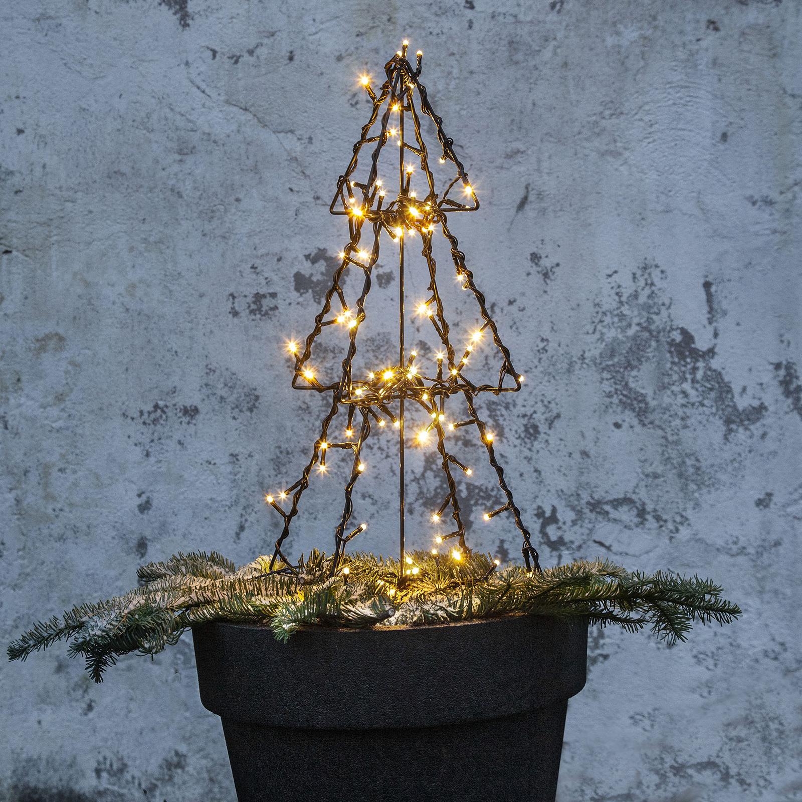 LED-Außendeko Light Tree Foldy, Höhe 50 cm