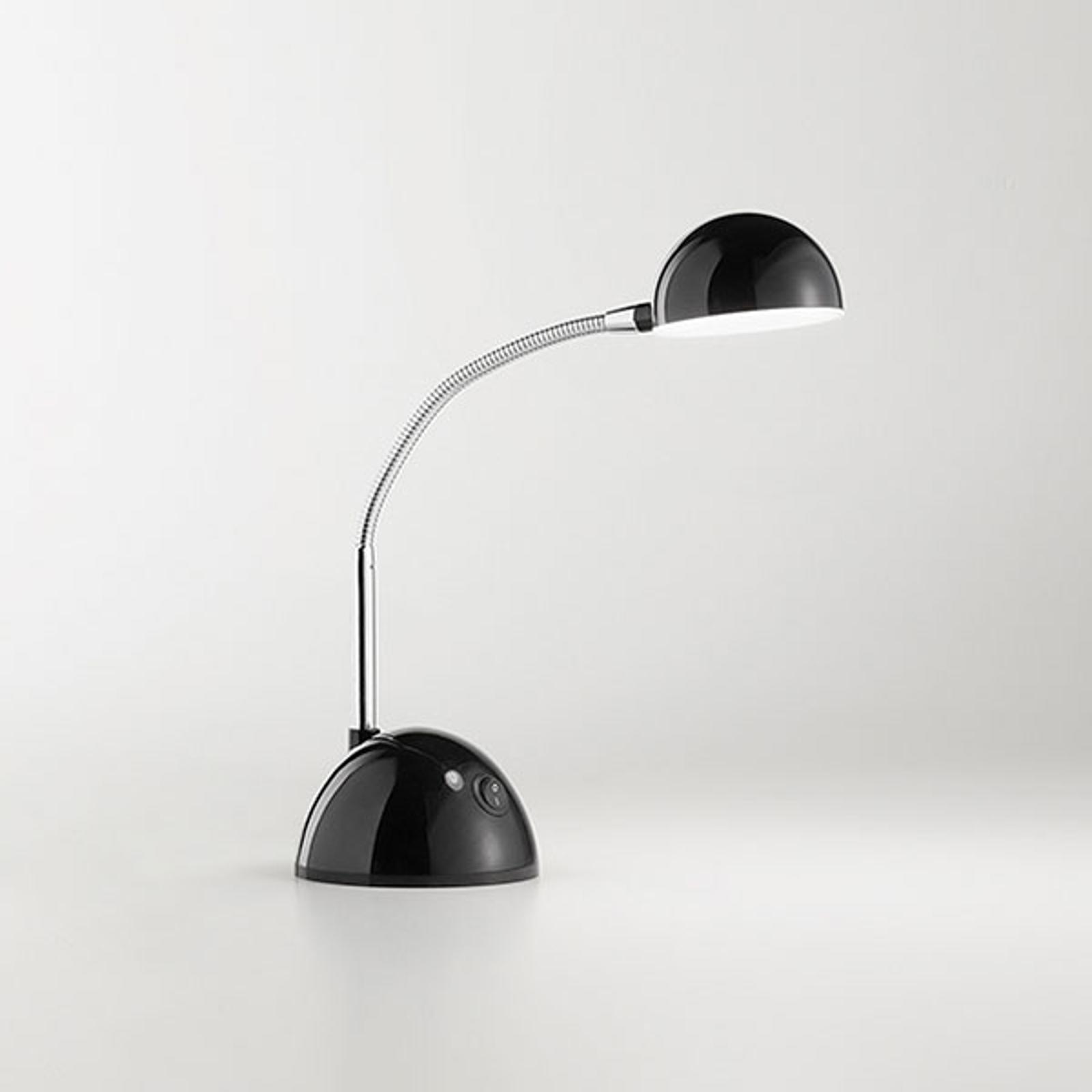 Lampe à poser LED 6512 avec bras flexible, noir
