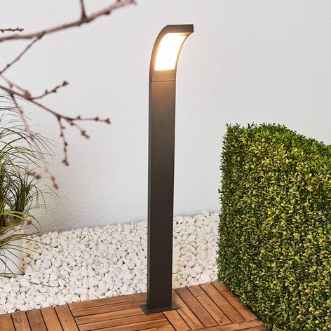Juvia - LED-Wegelampe aus grafitgrauem Aluminium