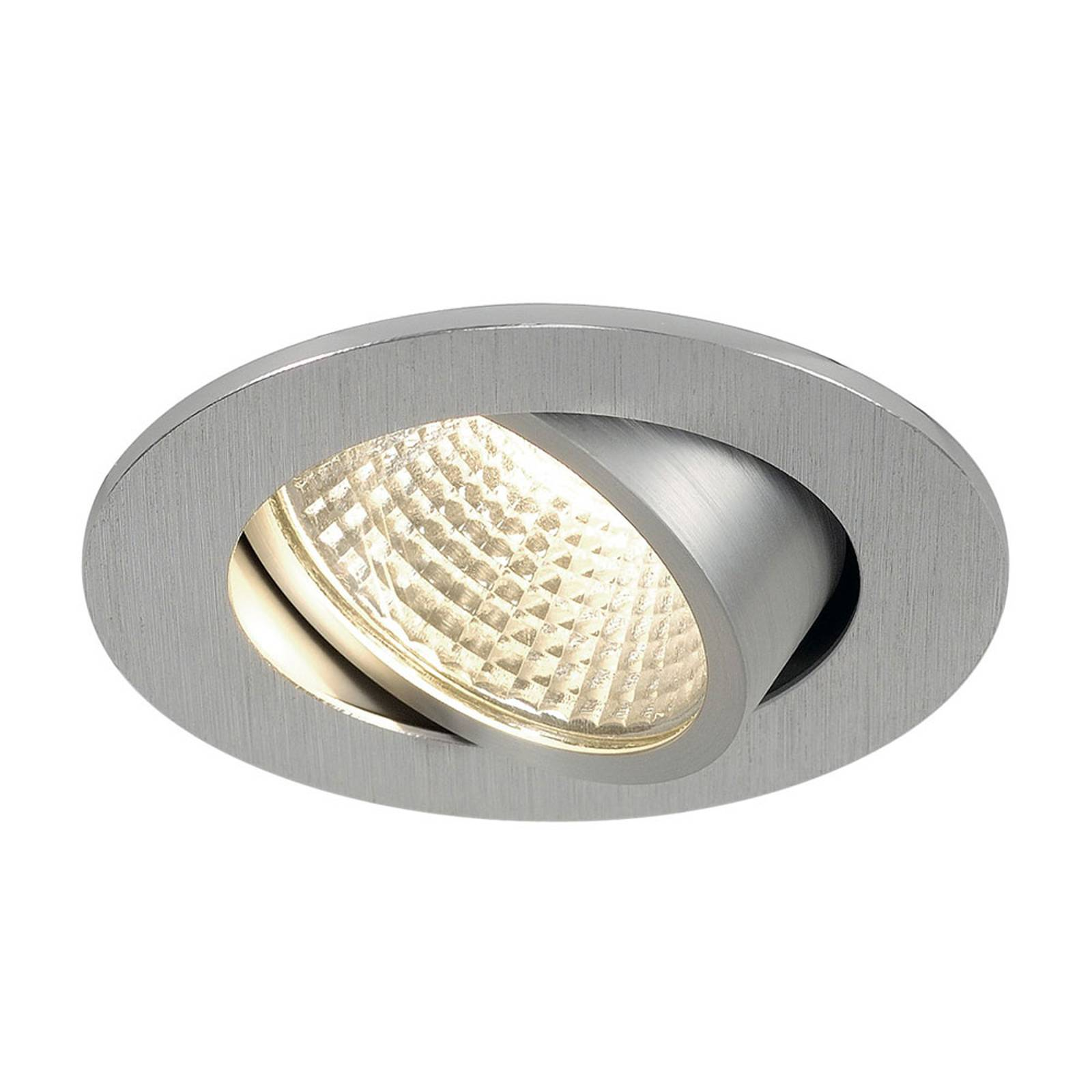 SLV New Tria 1 set spot LED rotondo alluminio