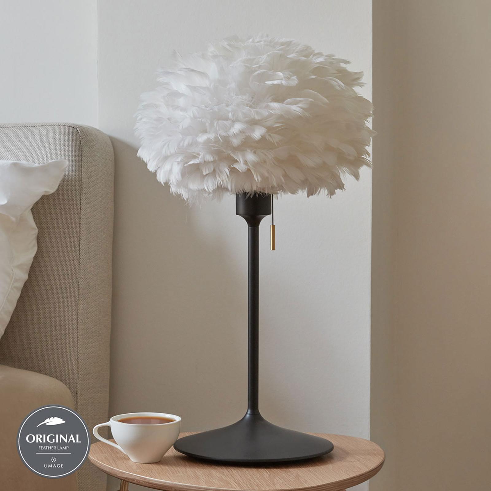 UMAGE Eos mini Tischlampe weiß Champagne schwarz