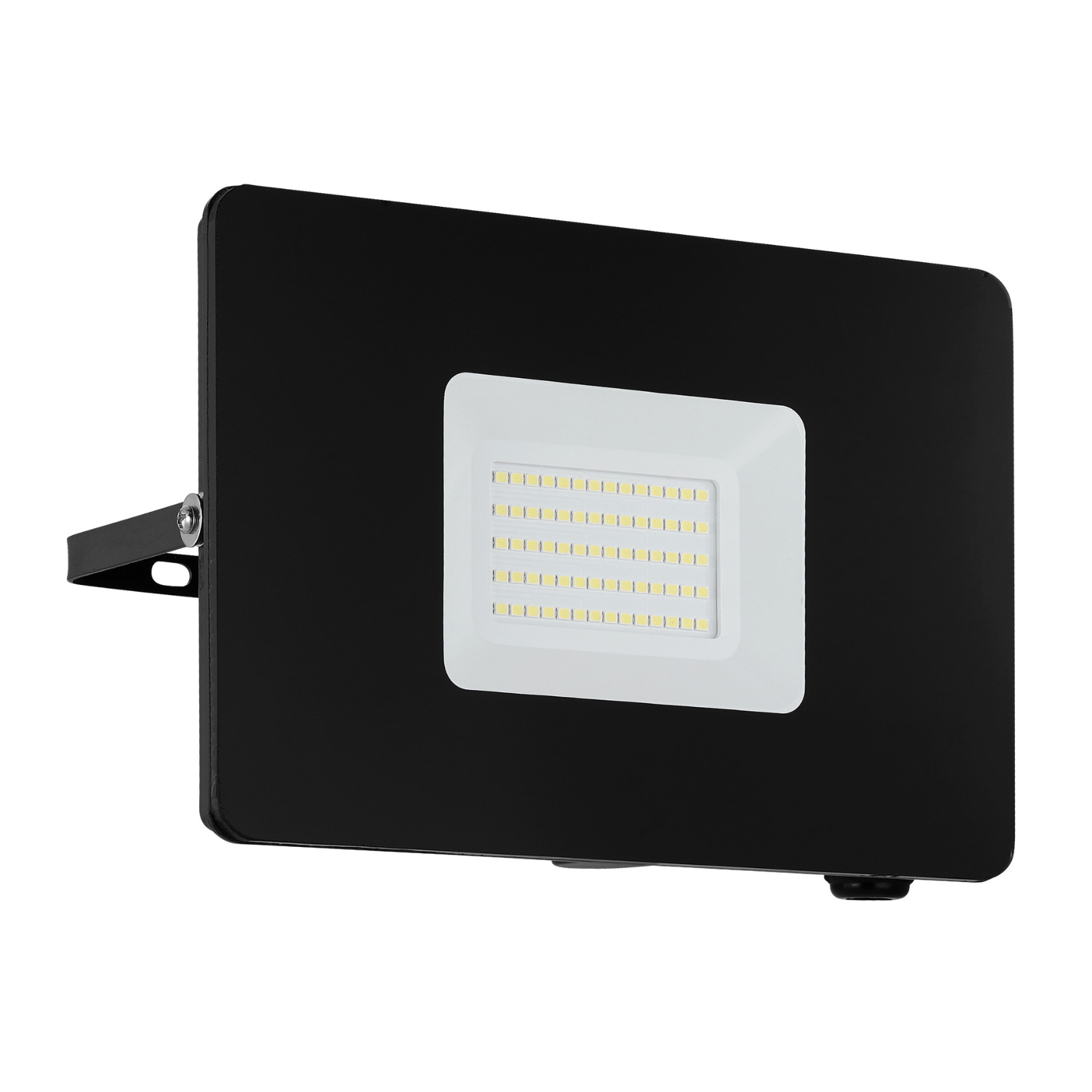 LED buitenspot Faedo 3 in zwart, 50W