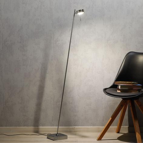 LED-Stehleuchte Bling mit Dimmer, 1-flg., chrom
