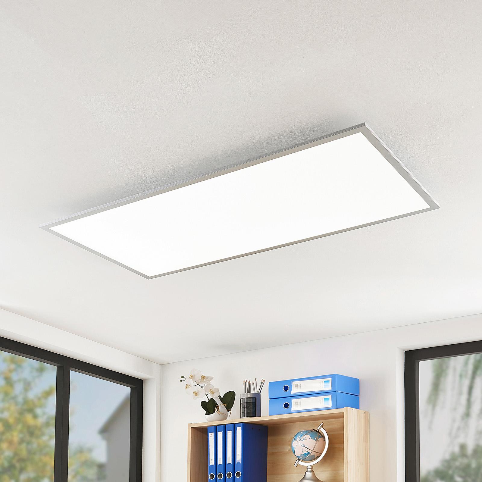 Arcchio Gelora panel LED, 4000K, 120 cm x 60 cm