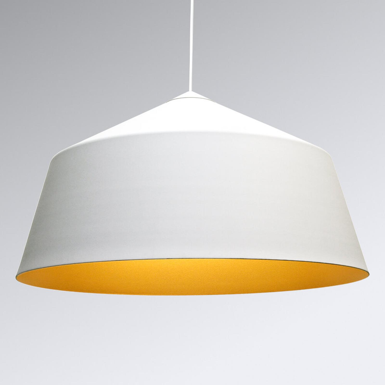 Innermost Circus - hængelampe, hvid-gylden, 56 cm
