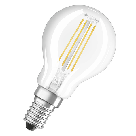 OSRAM bombilla a gota LED E14 4W blanco cálido