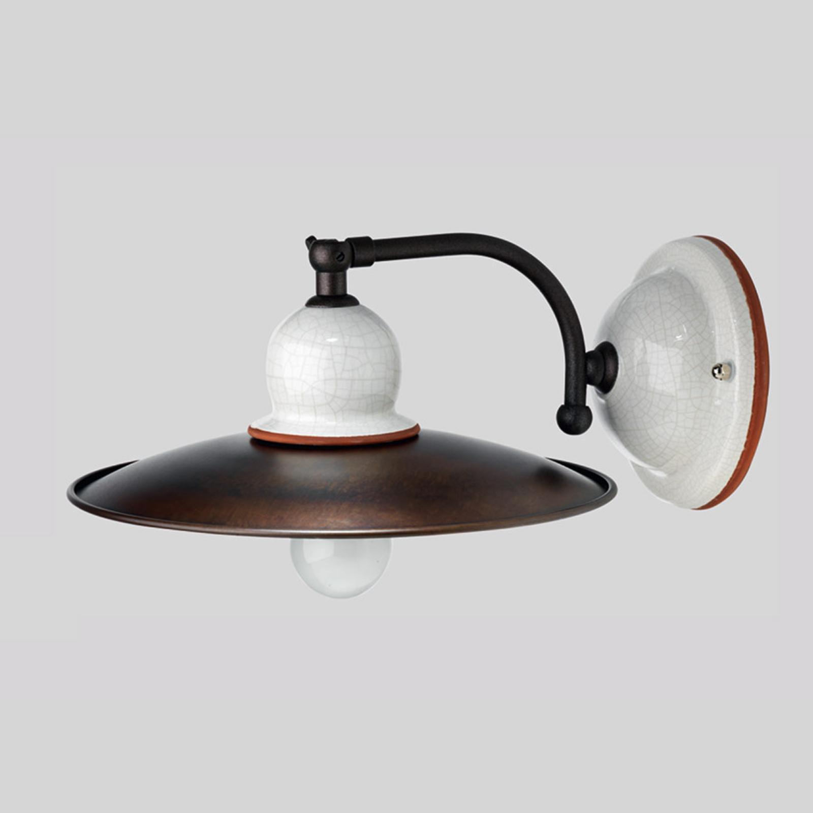 Brede wandlamp Ottone