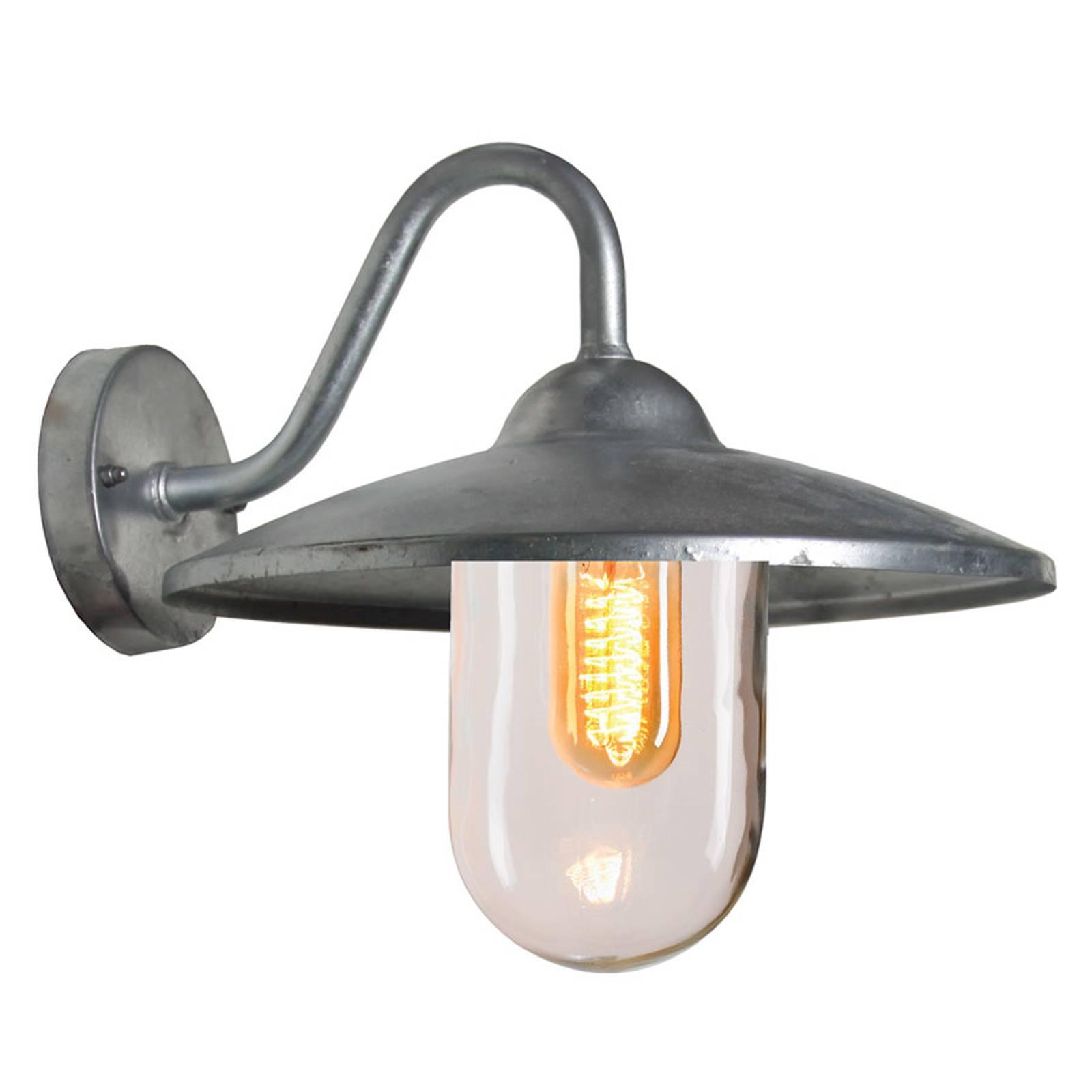 Brig - buitenwandlamp uit gegalvaniseerd staal