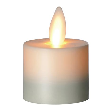 Candela LED Flame lumino da tè, 3,1 cm
