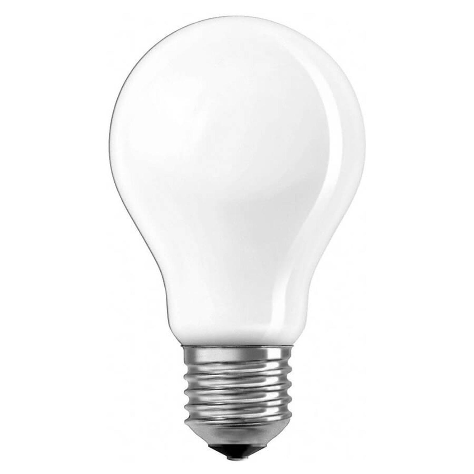 OSRAM LED-lampa E27 7W Classic A opal 840 dimbar