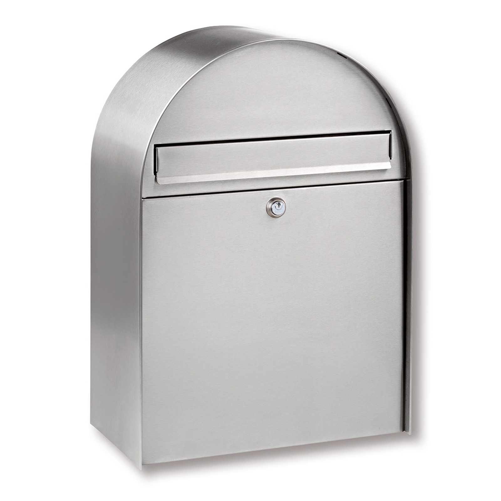 Nordic stainless steel letter box with curved form_1532134_1