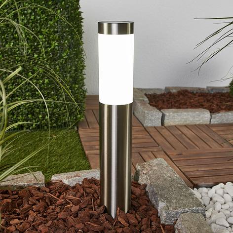 Lámpara LED solar Aleeza con pica de tierra