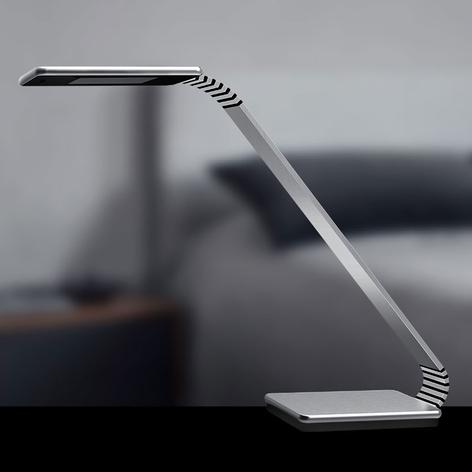 TRAE Maze 2 LED-Schreibtischleuchte, 4.000 K alu