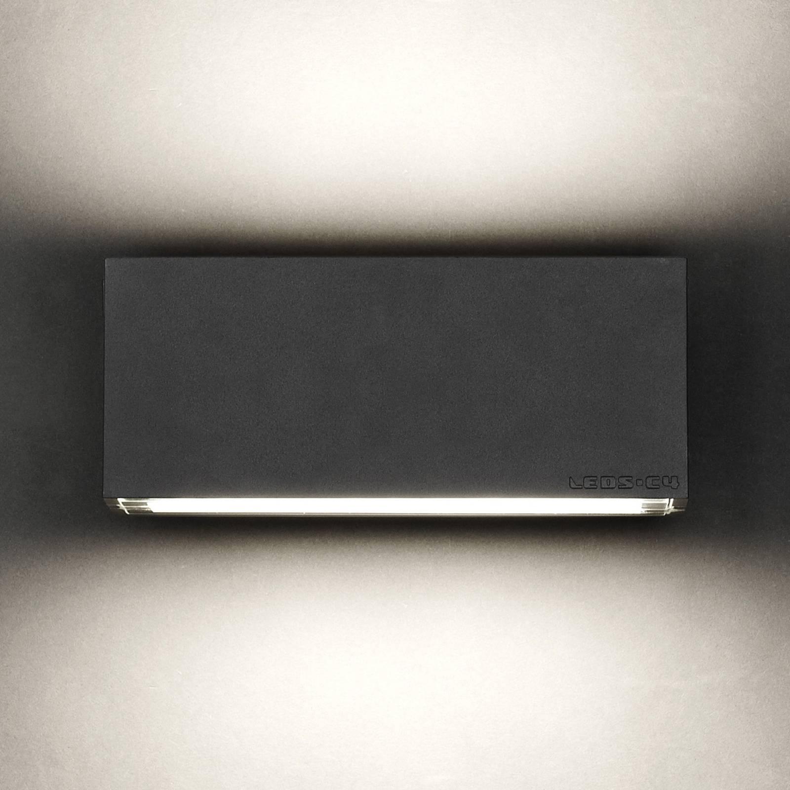 LEDS-C4 Afrodita buitenwandlamp, up/down antraciet
