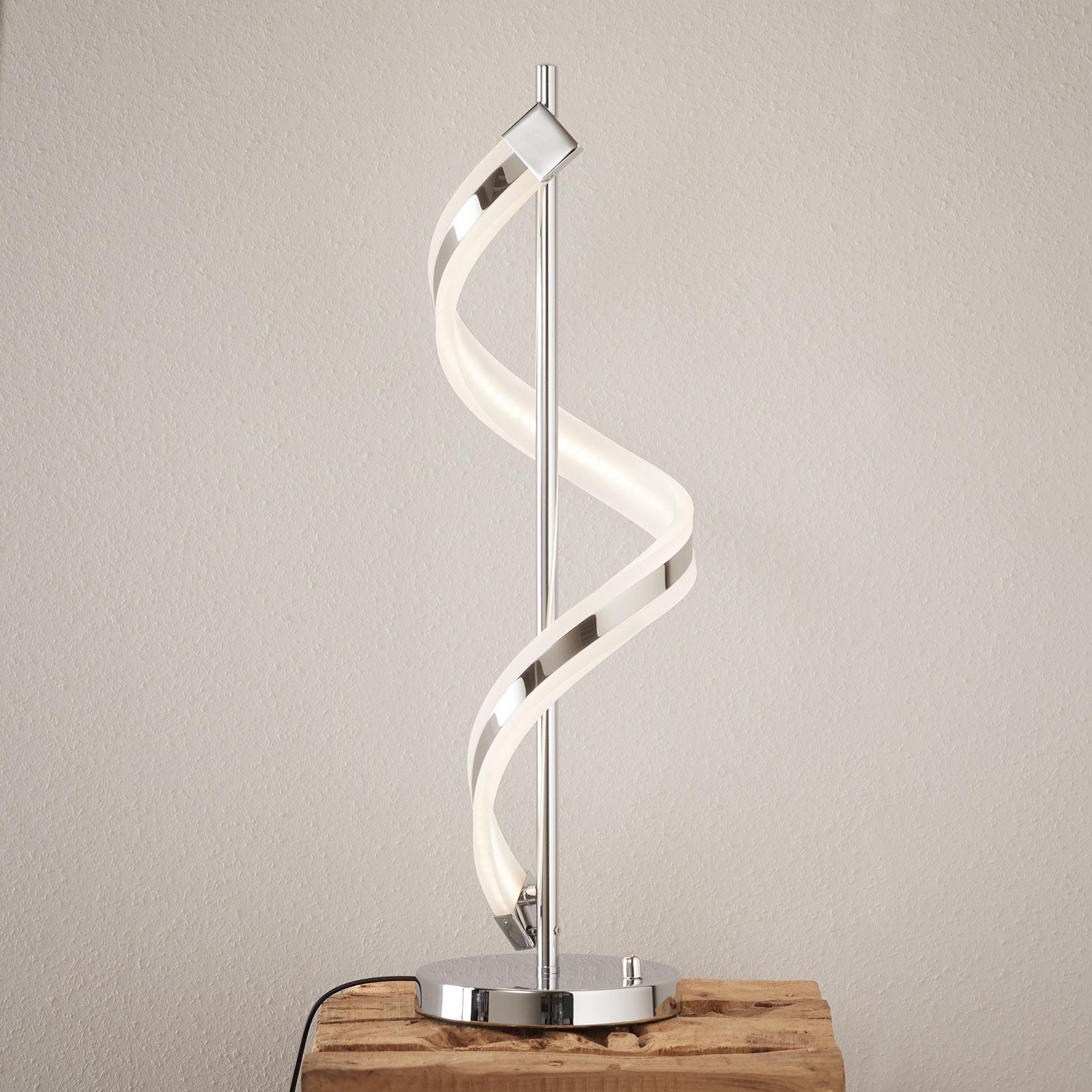 Utrustad med dimmer - LED-bordslampan Sydney