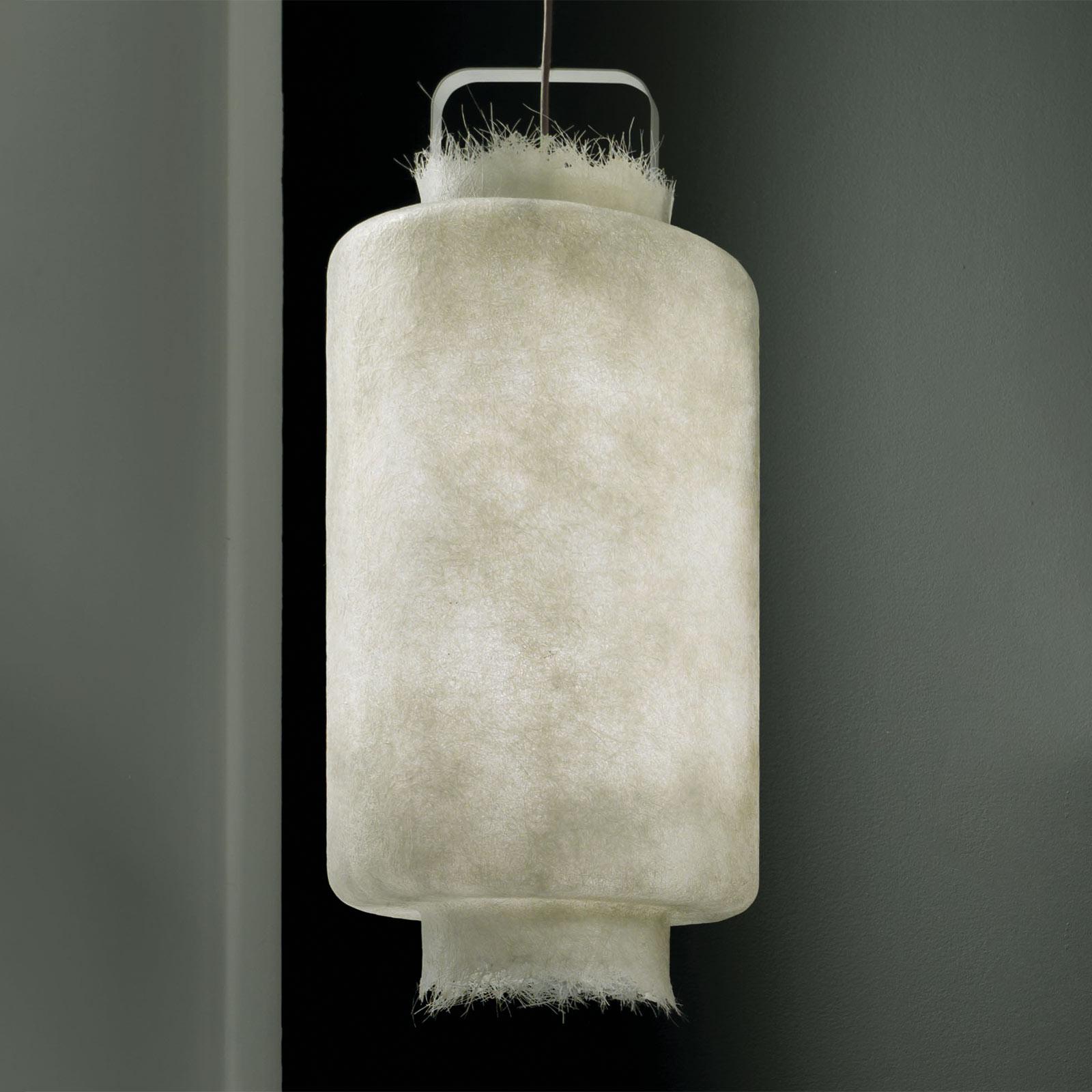 Karman Kimono udendørs LED-hængelampe, Ø 40 cm