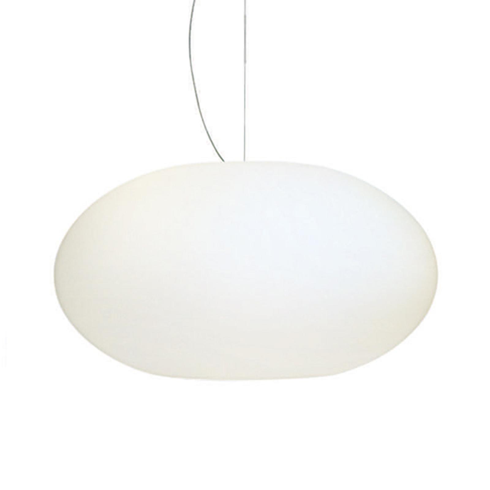 AIH, strakke hanglamp, 28 cm, wit glanzend