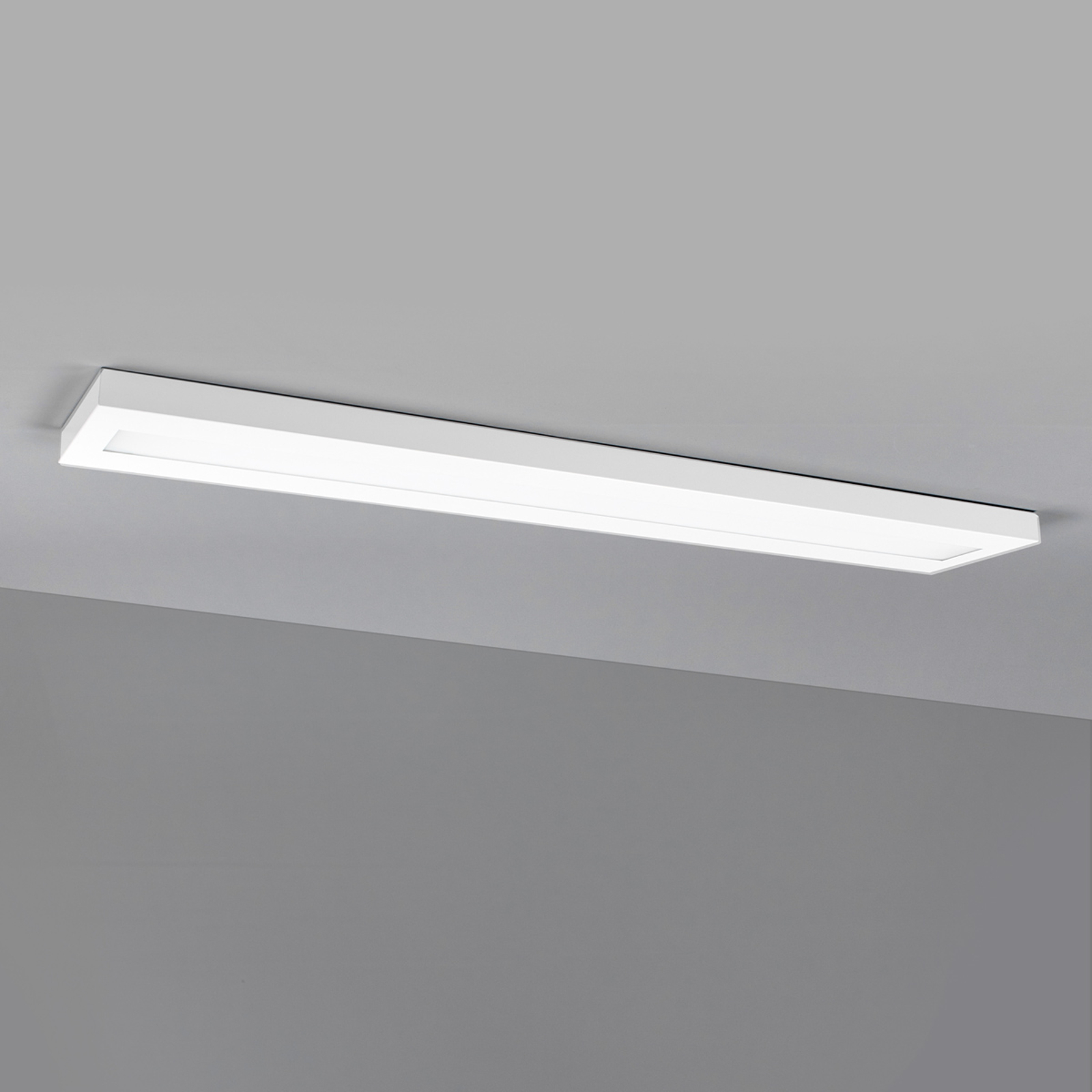 Längliche LED-Anbauleuchte 120 cm weiß, BAP