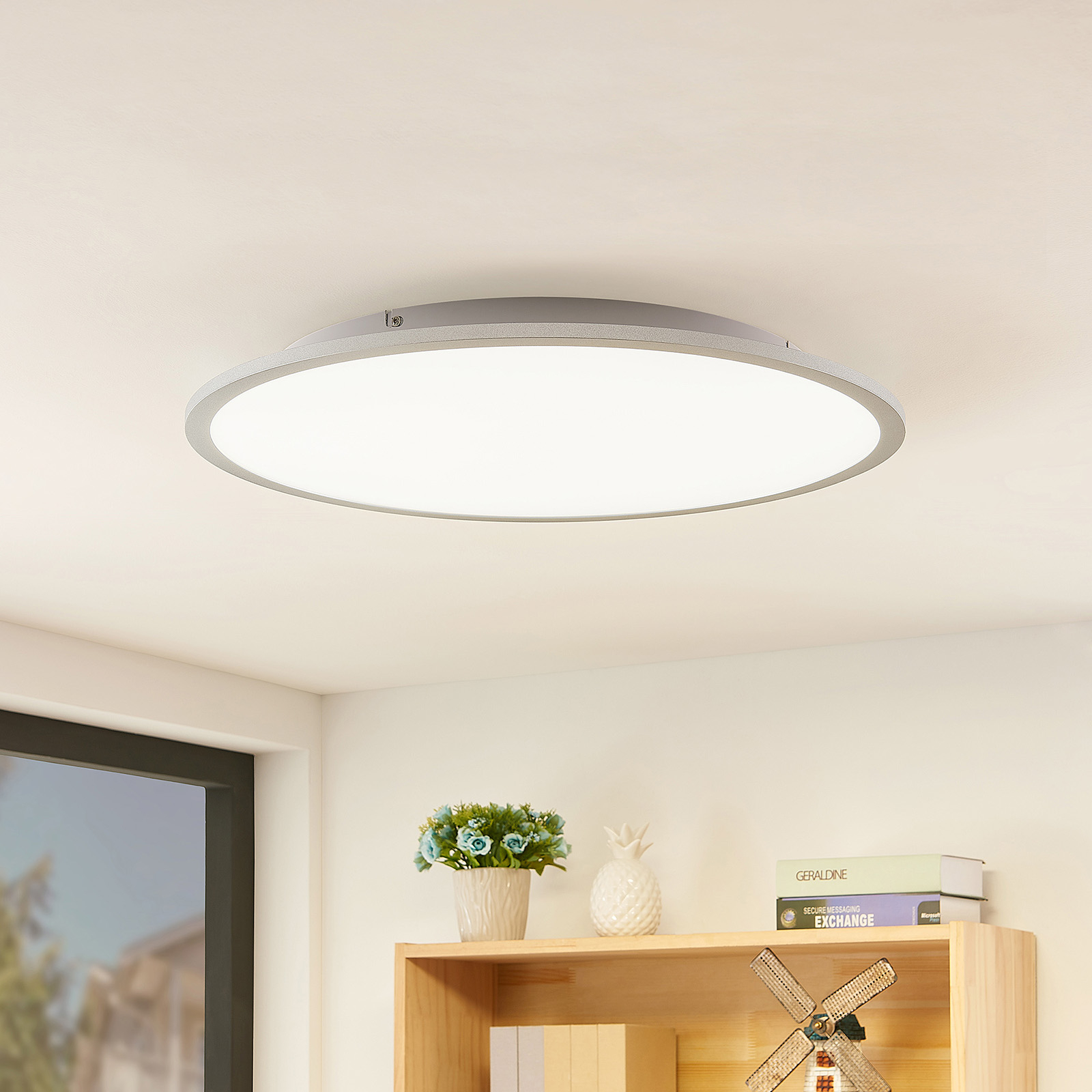 Lindby Narima LED-taklampa, CCT, Ø 60 cm