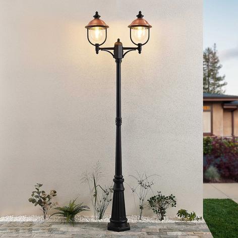 Lindby Clint mastlamp, 2-lamps