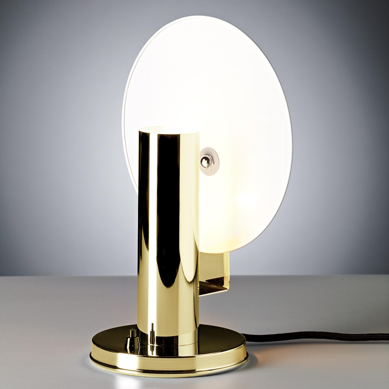 De Stijl - tafellamp in messing