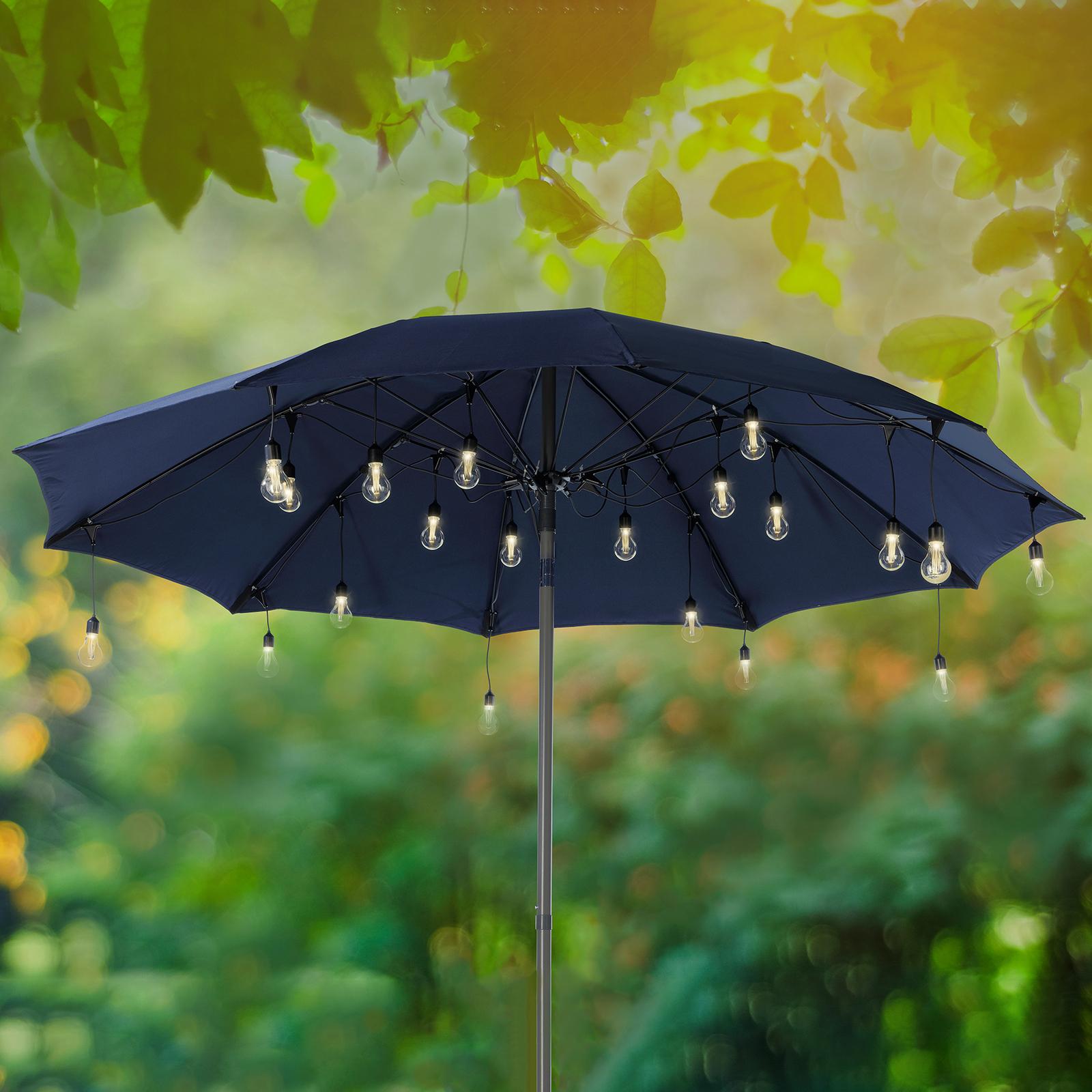 LED-Lichterkette 490145 für Sonnenschirme Filament