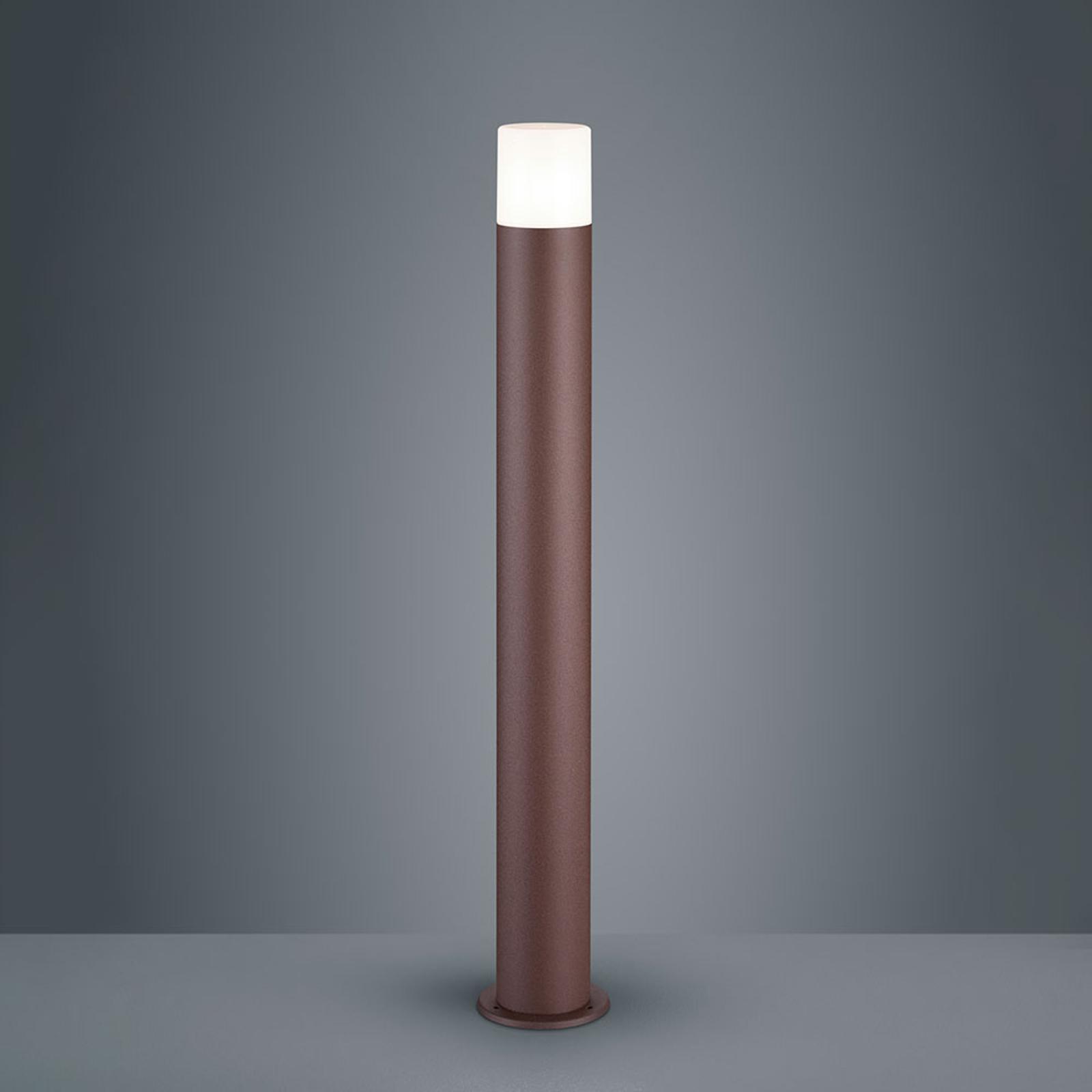Słupek oświetleniowy Hoosic z aluminium