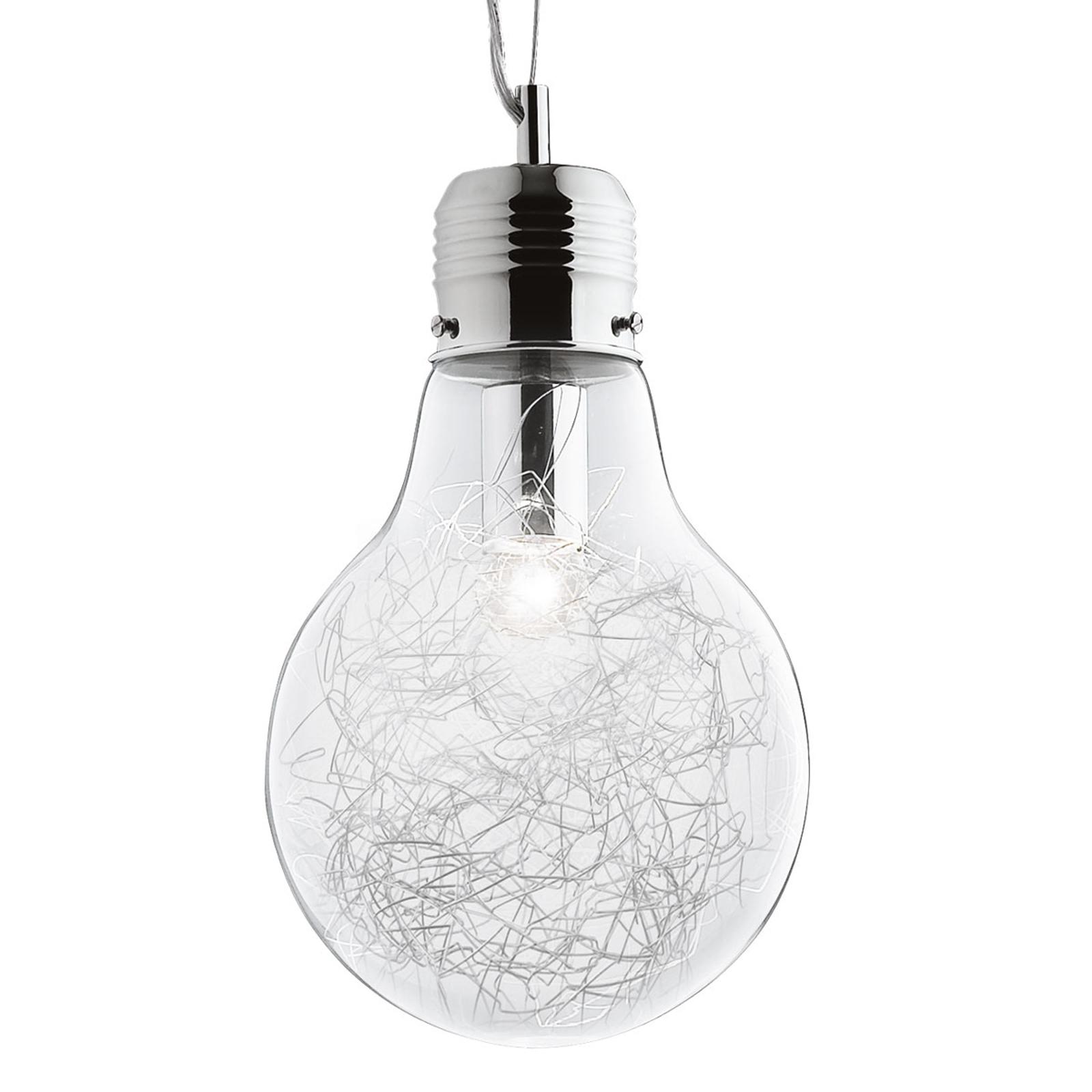 Luce Max - hanglamp in gloeilampvorm