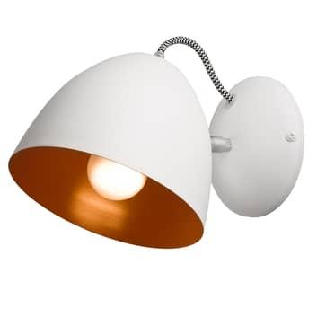 Lámpara de pared Atlántico, blanco