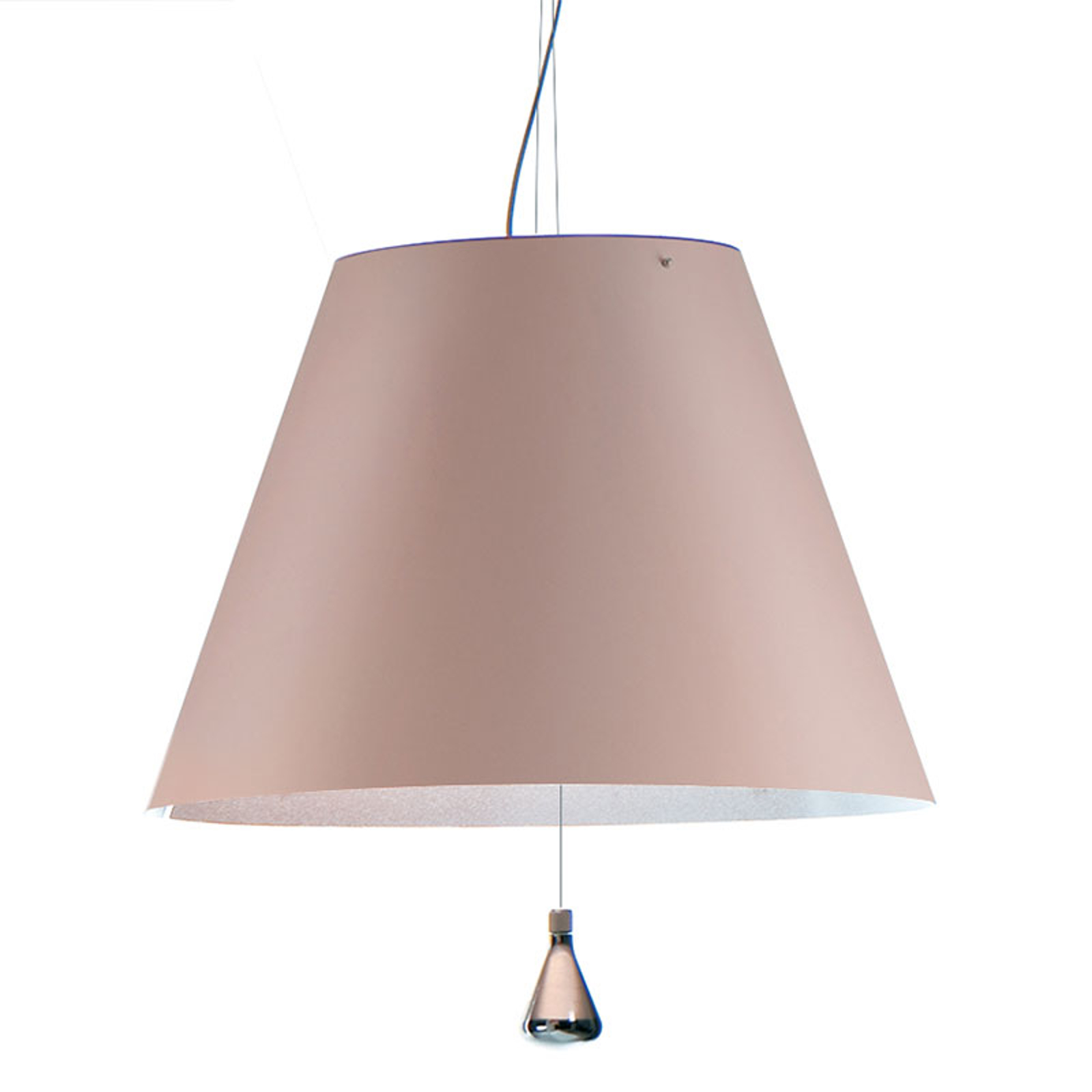 Luceplan Costanza suspension D13sas, poudrée