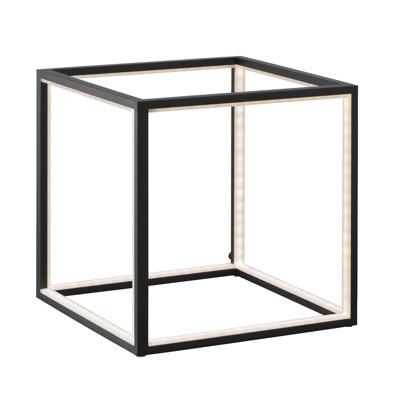 LED-Tischleuchte Delux, schwarz, 30 cm